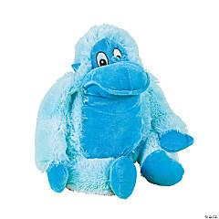 "20"" Blue Stuffed Monkey"
