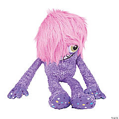 "20"" Plush Purple One-Eyed Monster"