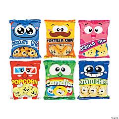 "20"" Plush Silly Snackz Bag"