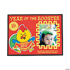 2017 Year of the Rooster Picture Frame Magnet Craft Kit
