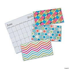 2018-2019 Basic Patterns Pocket Calendars