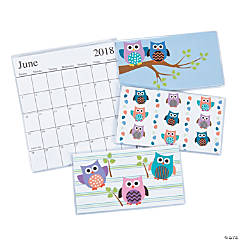 2018-2019 Owl Pocket Calendars