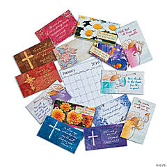 2018 - 2019 Religious Pocket Calendar Assortment