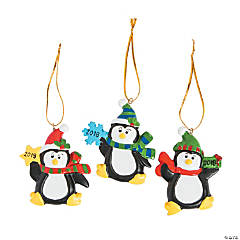 2018 Penguin Ornaments