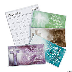 2019 - 2020 Expressions of Faith Pocket Calendars