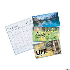 2019 - 2020 Inspirational Pocket Calendars
