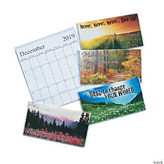 2019 - 2020 Motivational Pocket Calendars