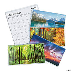 2019 - 2020 Nature Pocket Calendars