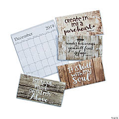 2019 - 2020 Rustic Faith Pocket Calendars