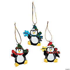 2019 Penguin Ornaments