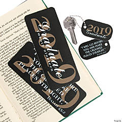 2019 Religious Grad Bookmarks & Keychain Tags