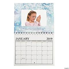 2019 Religious Photo Frame Calendar