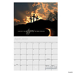 2019 Religious Wall Calendar