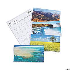2020 - 2021 Beautiful America Pocket Calendars