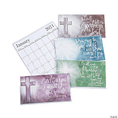 2020 - 2021 Expression of Faith Pocket Calendars