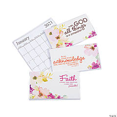 2020 - 2021 Faith Pocket Calendars