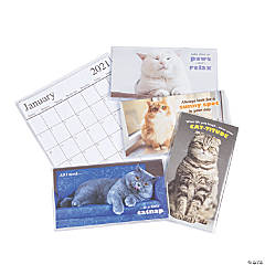 2020 - 2021 Fat Cat Pocket Calendars