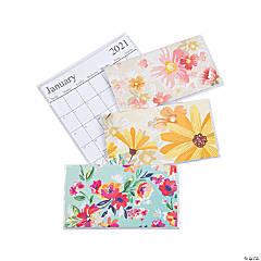 2020 - 2021 Floral Pocket Calendars