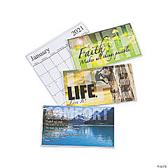 2020 - 2021 Inspirational Pocket Calendars