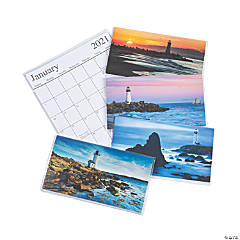 2020 - 2021 Lighthouse Pocket Calendars