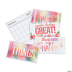 2020 - 2021 Make A Statement Pocket Calendars