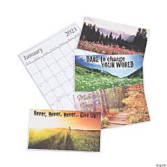 2020 - 2021 Motivational Pocket Calendars