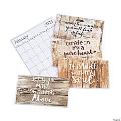 2020 - 2021 Rustic Faith Pocket Calendars