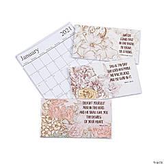 2020 - 2021 Scripture Pocket Calendars