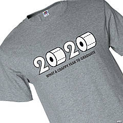 2020 Crappy Year to Graduate Adult's T-Shirt - Medium