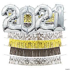2020 Gold Fringe Backdrop Kit