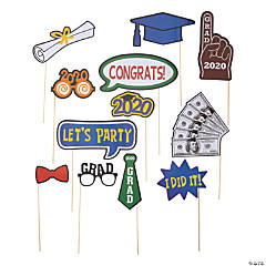 2020 Graduation Photo Stick Props
