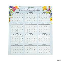 2020 Inspirational Wall Calendar