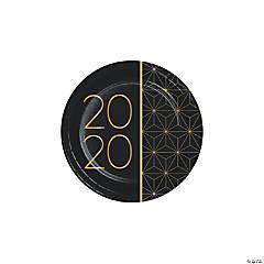 2020 New Year Dessert Plates