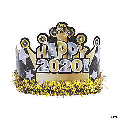 2020 New Year's Eve Crowns