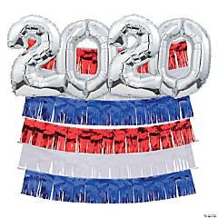 2020 Patriotic Fringe Backdrop Kit