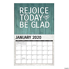 2020 Rustic Faith Wall Calendar