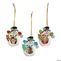 2020 Snowman Picture Frame Ornament