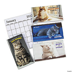 2021-2022 Fat Cats Pocket Calendars