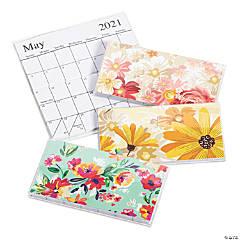 2021 - 2022 Floral Pocket Calendars