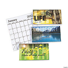 2021 - 2022 Inspirational Pocket Calendars