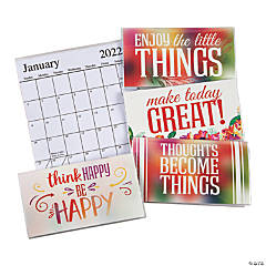 2021-2022 Make a Statement Pocket Calendars