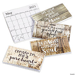 2021 - 2022 Rustic Faith Pocket Calendars