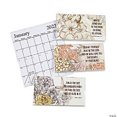 2021 - 2022 Scripture Pocket Calendars