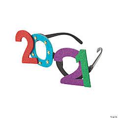 2021 Bright Glitter Glasses