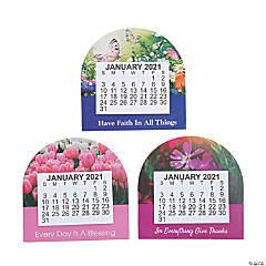 2021 Large Print Religious Calendar Magnets