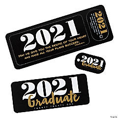 2021 Religious Graduate Bookmarks & Keychain Tags