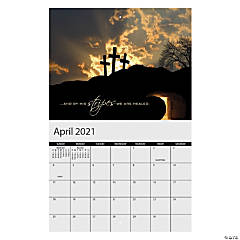 2021 Religious Wall Calendar
