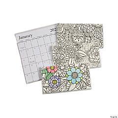 2022 - 2023 Adult Coloring Pocket Calendars