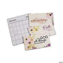2022 - 2023 Faith Watercolors Pocket Calendars
