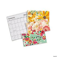 2022 - 2023 Floral Pocket Calendars